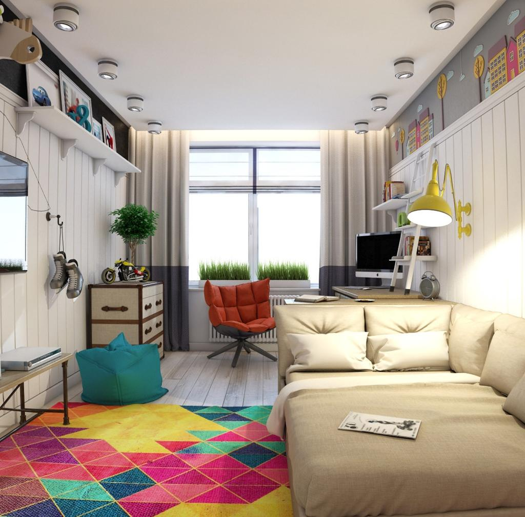 Дизайн для комнаты подростка