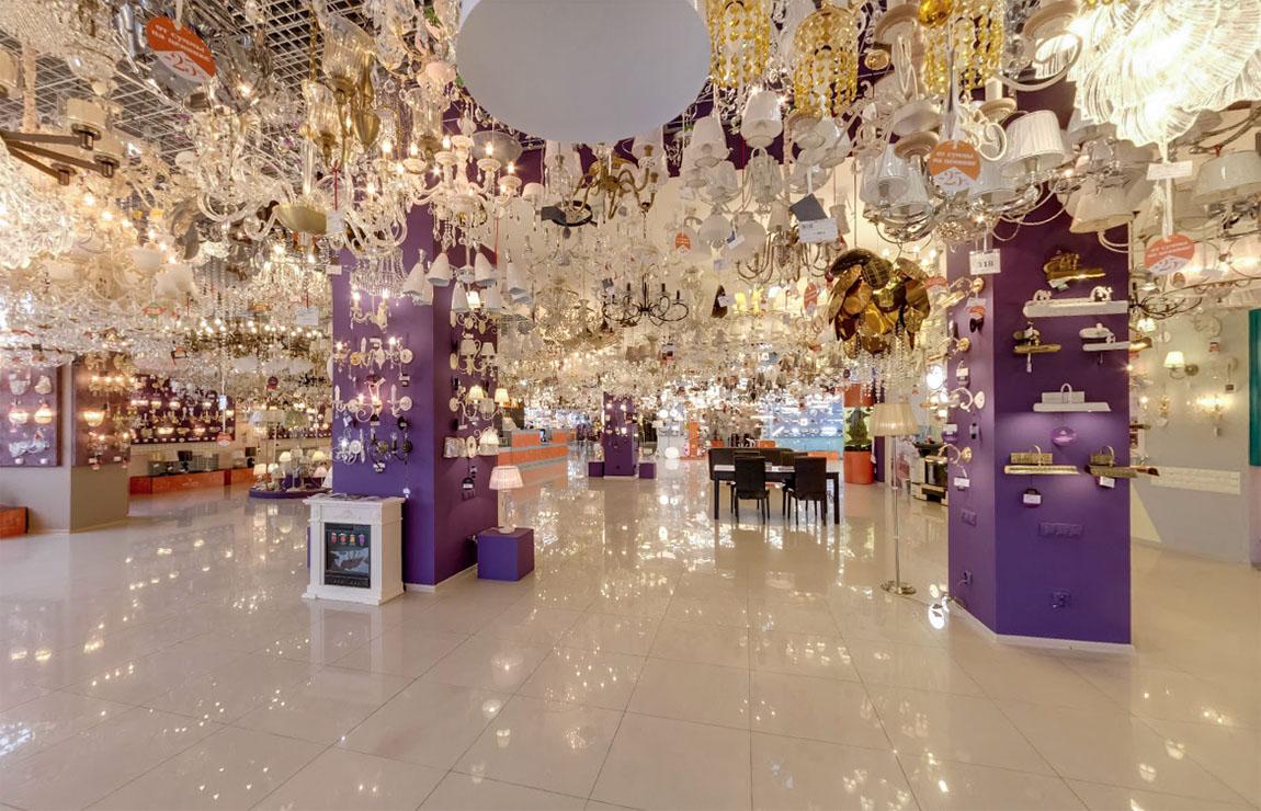 Обширный выбор продукции по выгодной цене в магазине освещения Великолепный луч